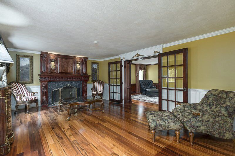 Boxford colonial is awe-inspiring inside and out