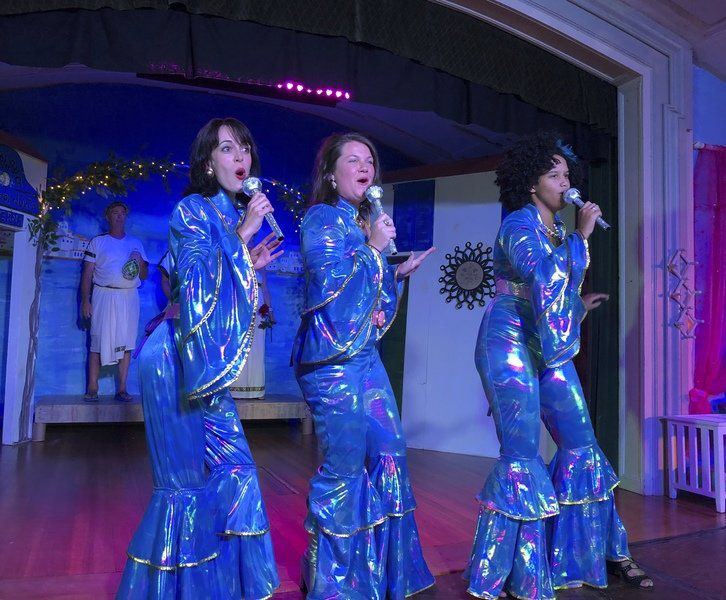 'Mamma Mia!' — Cape Ann style; Annisquam Village Players puts creative touch on popular musical