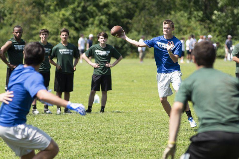 Beverly shines; Danvers, Fenwick, H-W test their QBS at Northeast 7v7