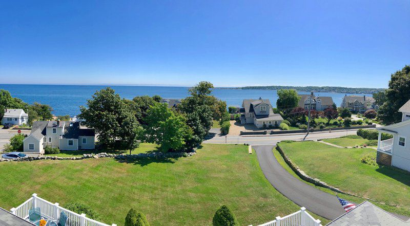 Enjoy the riches of Rockport from this iconic seaside home