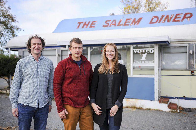 Rooftop treatment for Salem Diner