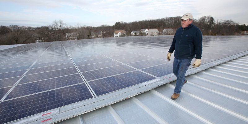 New warehouse now biggest green energy provider in Peabody
