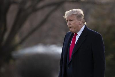 Column: Trump's speech on Iran delivered to three audiences