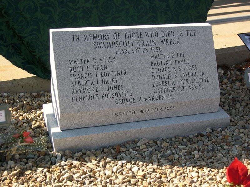 Swampscott train wreck recalled 60 years later