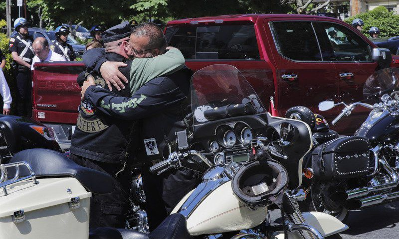 'Tough to lose your brothers': Funerals held for bikers