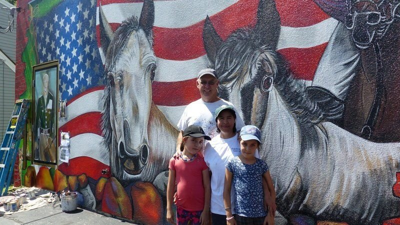 Store's new mural encourages community pride