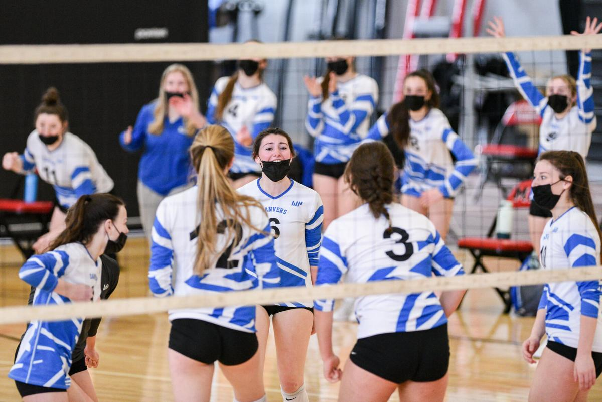 Danvers at Marblehead varsity volleyball match