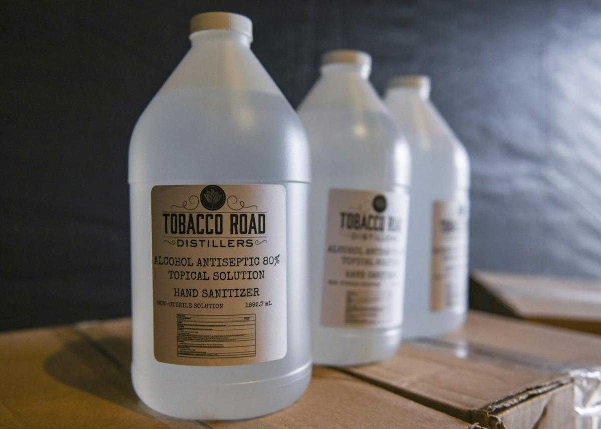 Northeast Arc turns to distillery for hand sanitizer supply