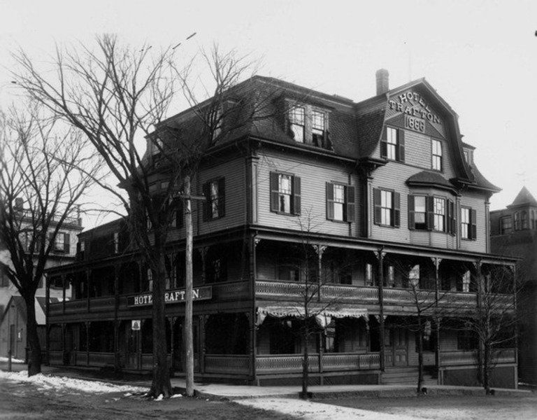 The Hotel Trafton As Seen In 1911