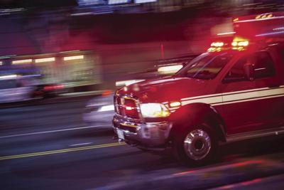 ambulance rushing