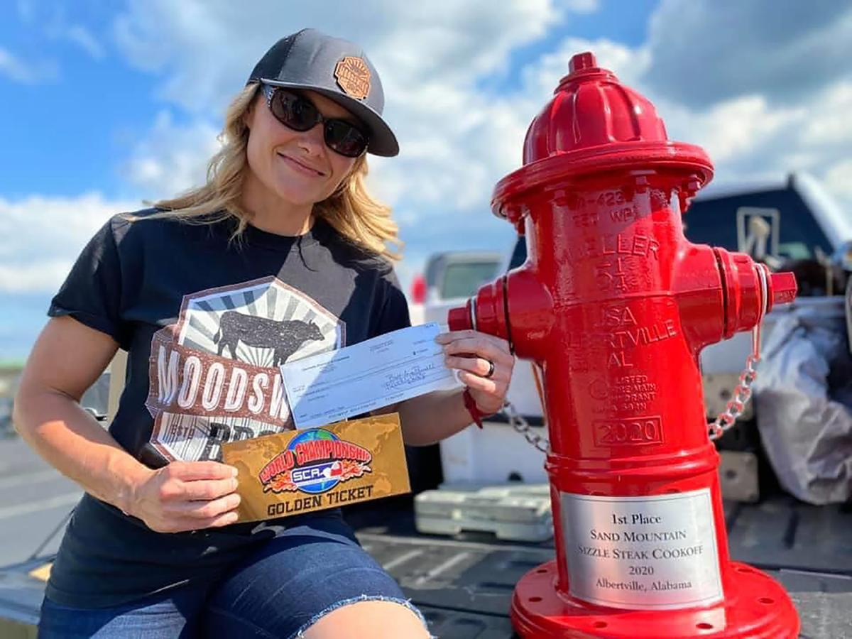 Sunny Moody wins Sand Mountain Sizzle