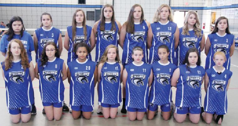 MCS junior varsity squad