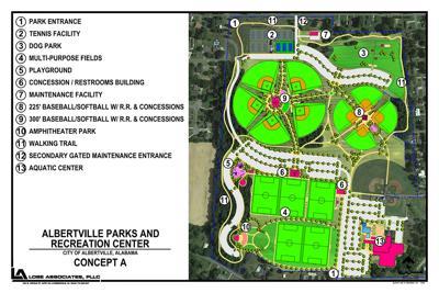 new recreation center coming to Albertville