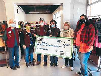 Elks Lodge #2869 donated funds