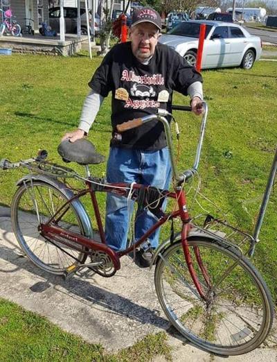 bicycle bobby at home