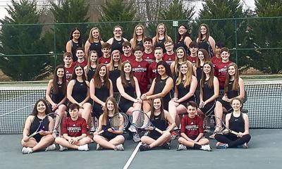 2019 Aggie tennis teams