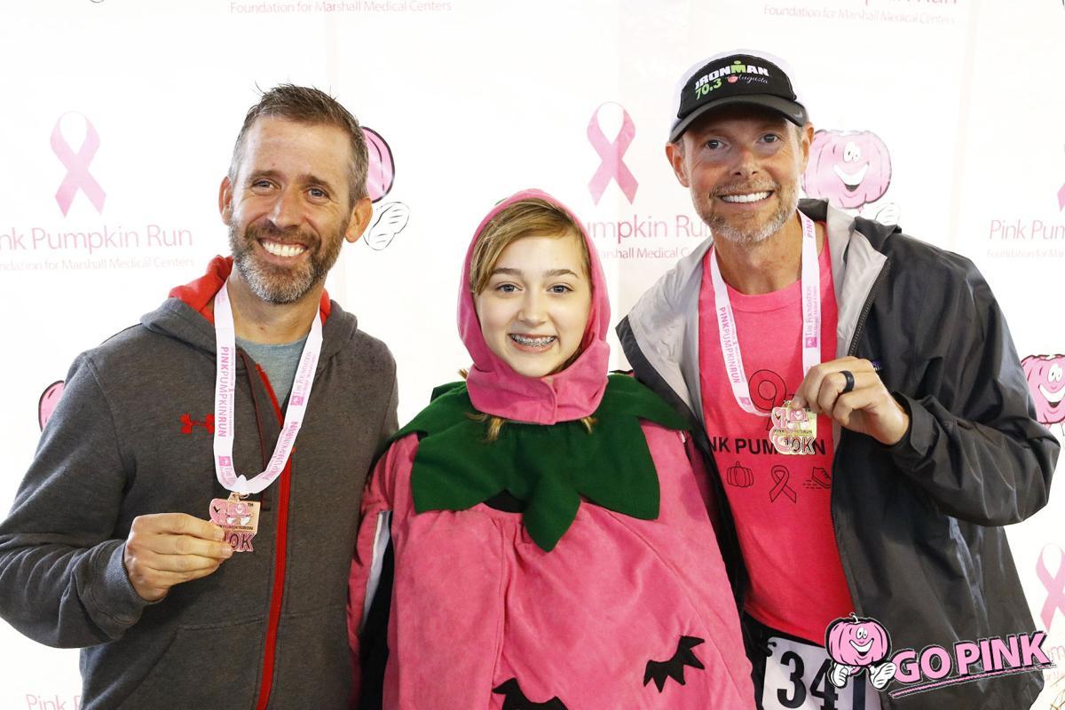 Pink Pumpkin Run 2019 - medal winners