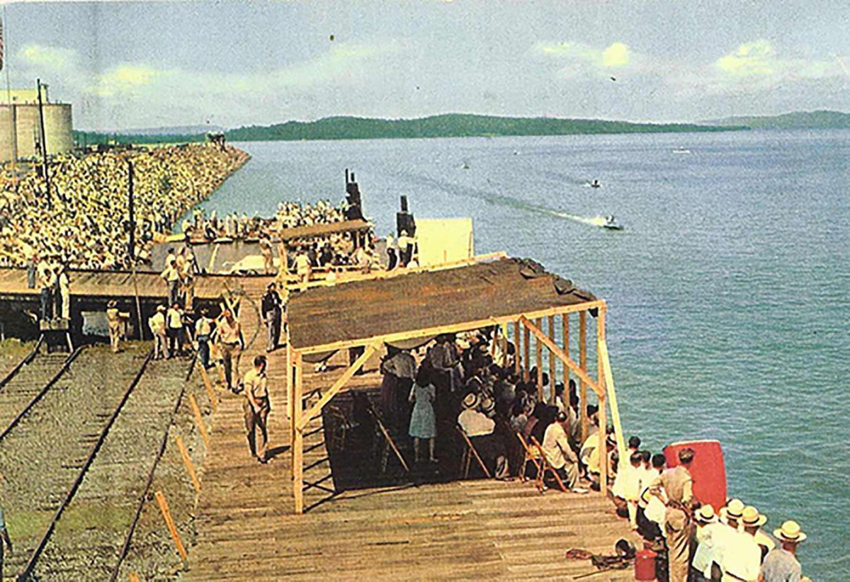 Something in the water   Marshall County soaked by Lake Guntersville's historic impact