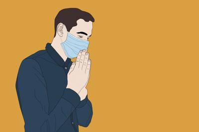 masked prayer