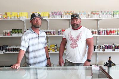 Vape shop owners saw dip