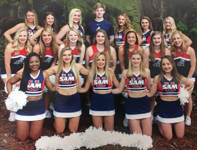 2019-20 Samford cheer
