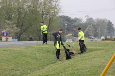 Clean up mission a success - Volunteers