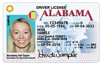 STAR ID ALEA website - Heidi Sample - STAR ID deadline Oct. 1, 2020