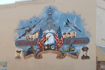 Boaz Veteran mural