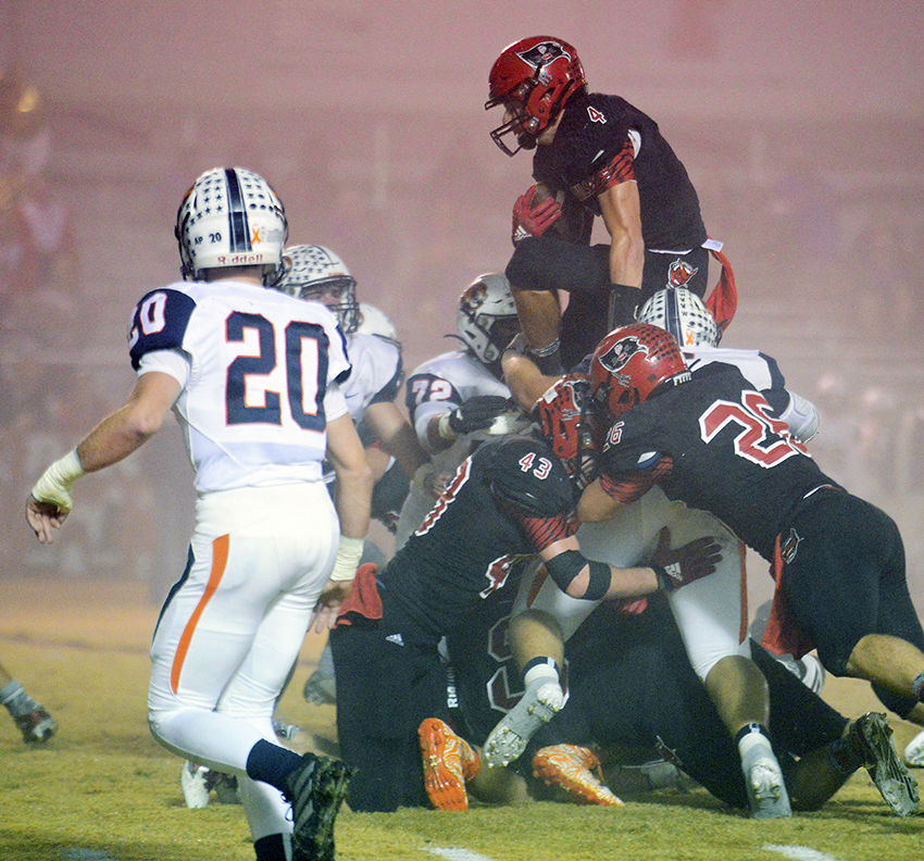 Rowell rushes for 228 yards