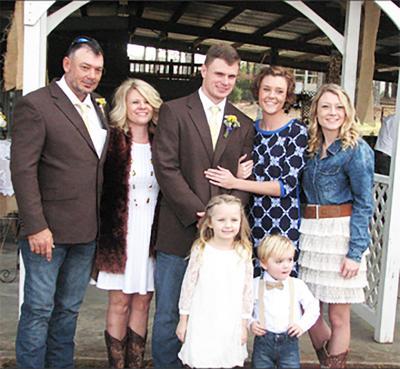 Lee Sims Family Photo