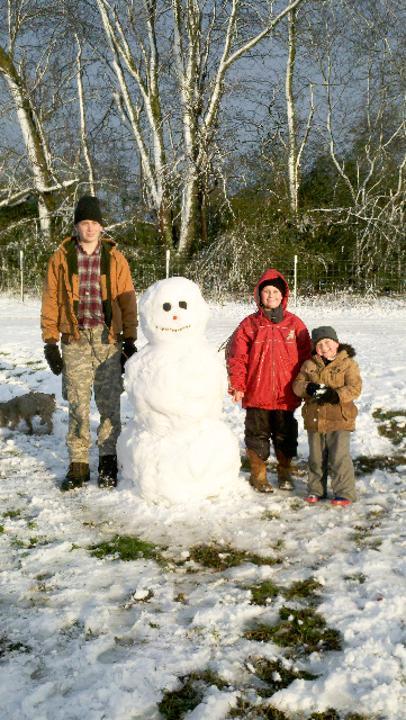Snowman Contest Sandmountainreporter Com Photo Galleries