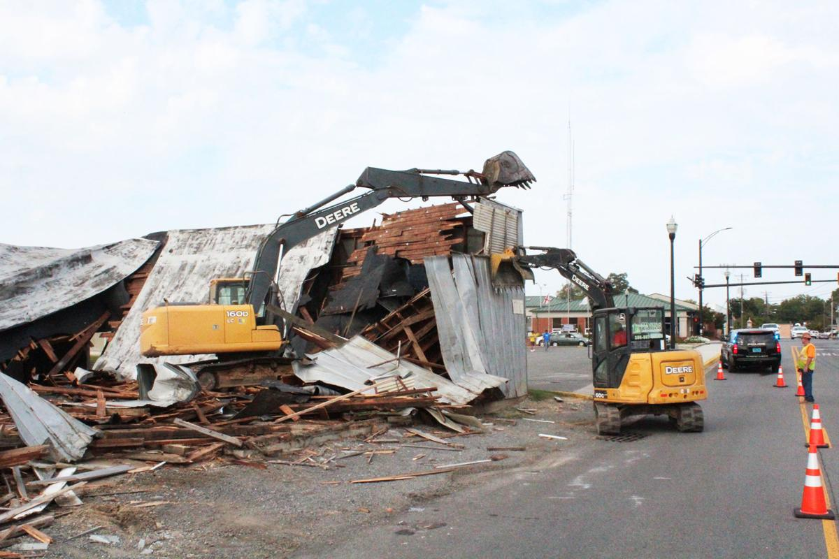 Old warehouse torn down for Brindley's