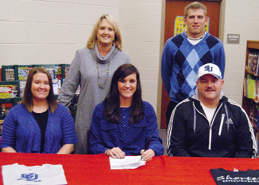 Carter signs with Shorter University