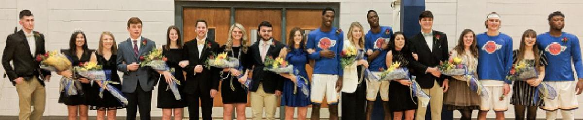 SSCC homecoming court