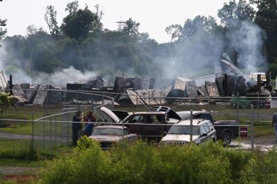 Albertville trucking company loses shop to fire