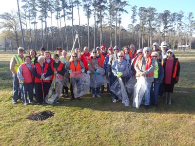 Marshall County Democrats Adopt-A-Mile Litter Pickup