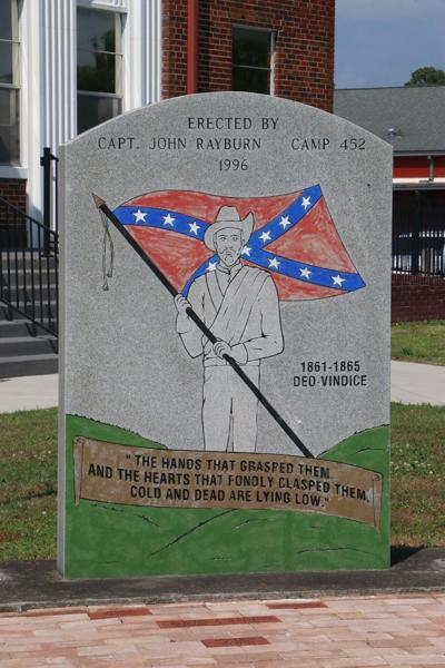 Confederate monument in Albertville
