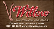 Willow Beer & Wine Bar