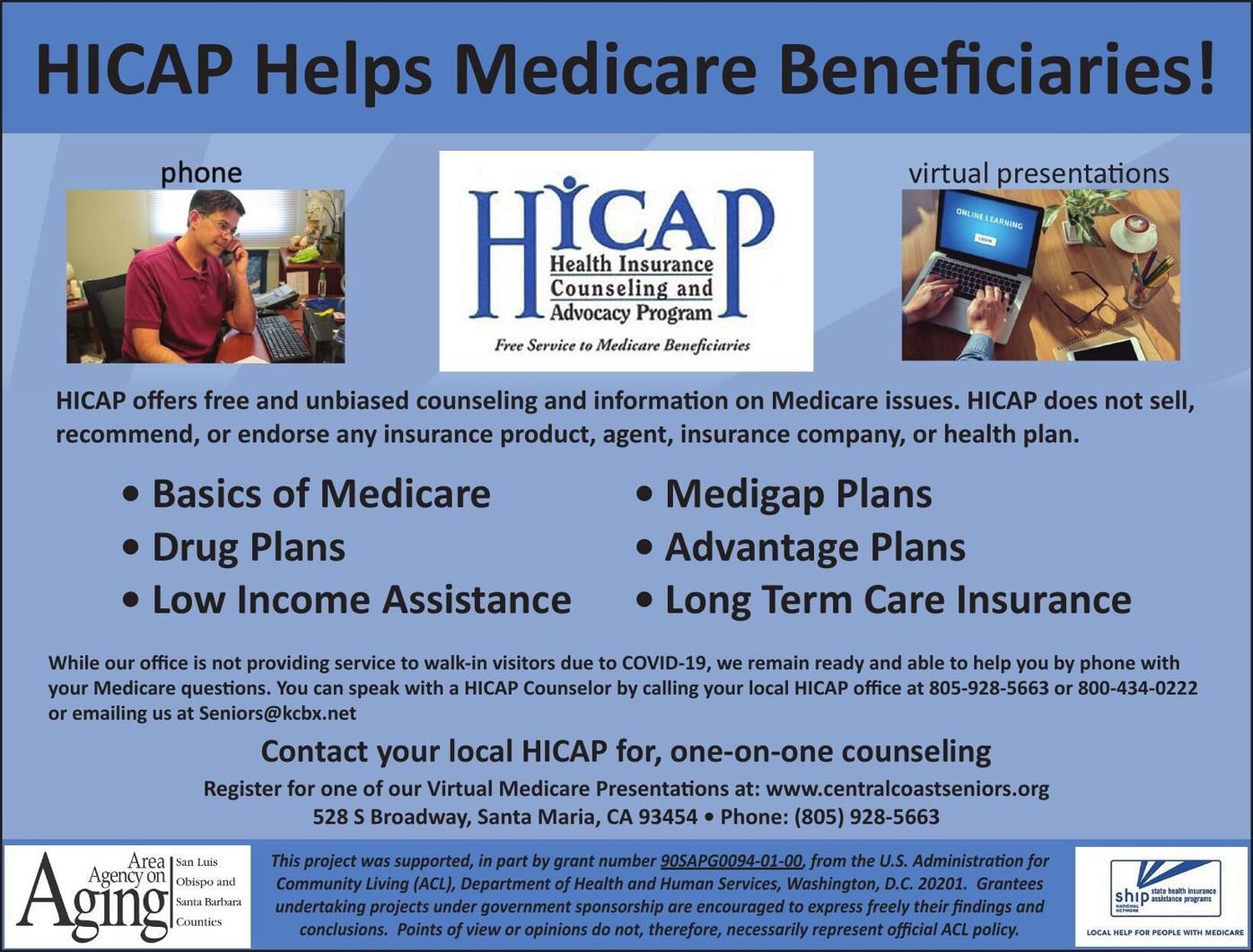HICAP Helps Medicare Beneficiaries!