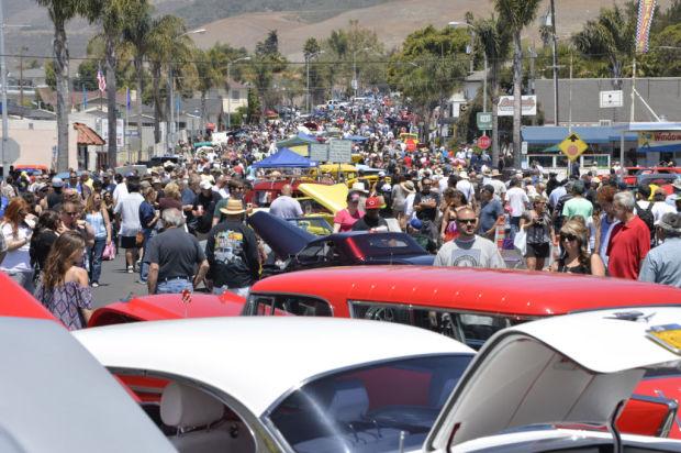 Thousands Visit Pismo Beach For Annual Car Show Local News - Pismo beach car show
