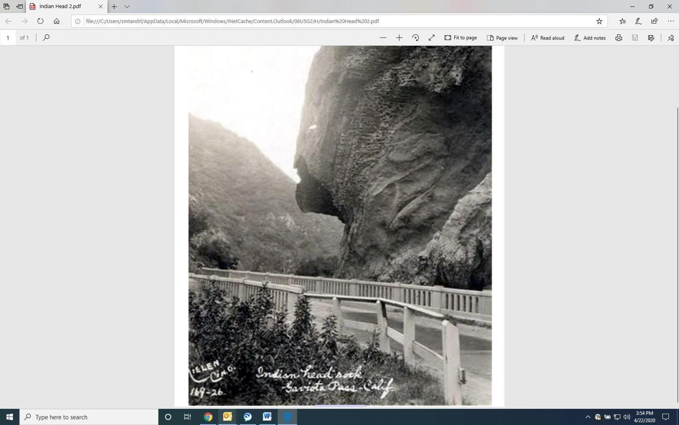 Judith Dale: History of the Gaviota Pass
