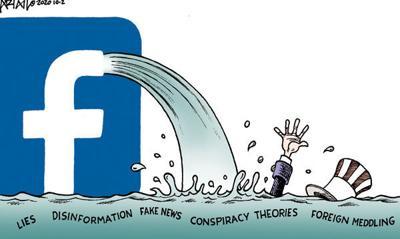 Editorial Cartoon: Drowning