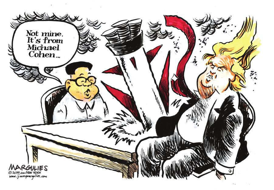 Cartoon: Cohen missile