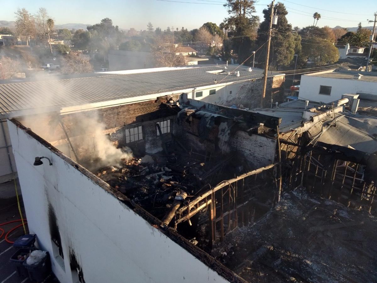 Shaw S Steakhouse Santa Maria Furniture Store Extensively Damaged