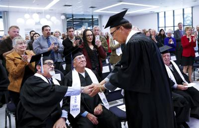 Veteran with Bronze Star, 6 college degrees fulfills lifelong dream of a high school diploma