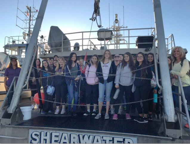 Righetti students make trip to Channel Islands