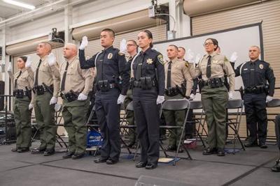 120518 Hancock law enforcement graduation