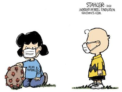 Editorial Cartoon: NCAA