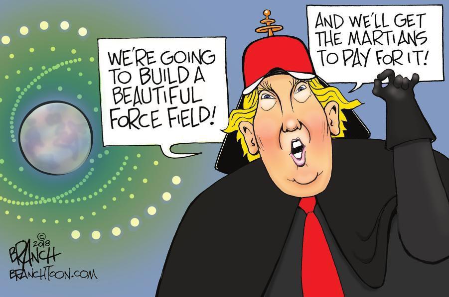Cartoon: Trump's Space Force
