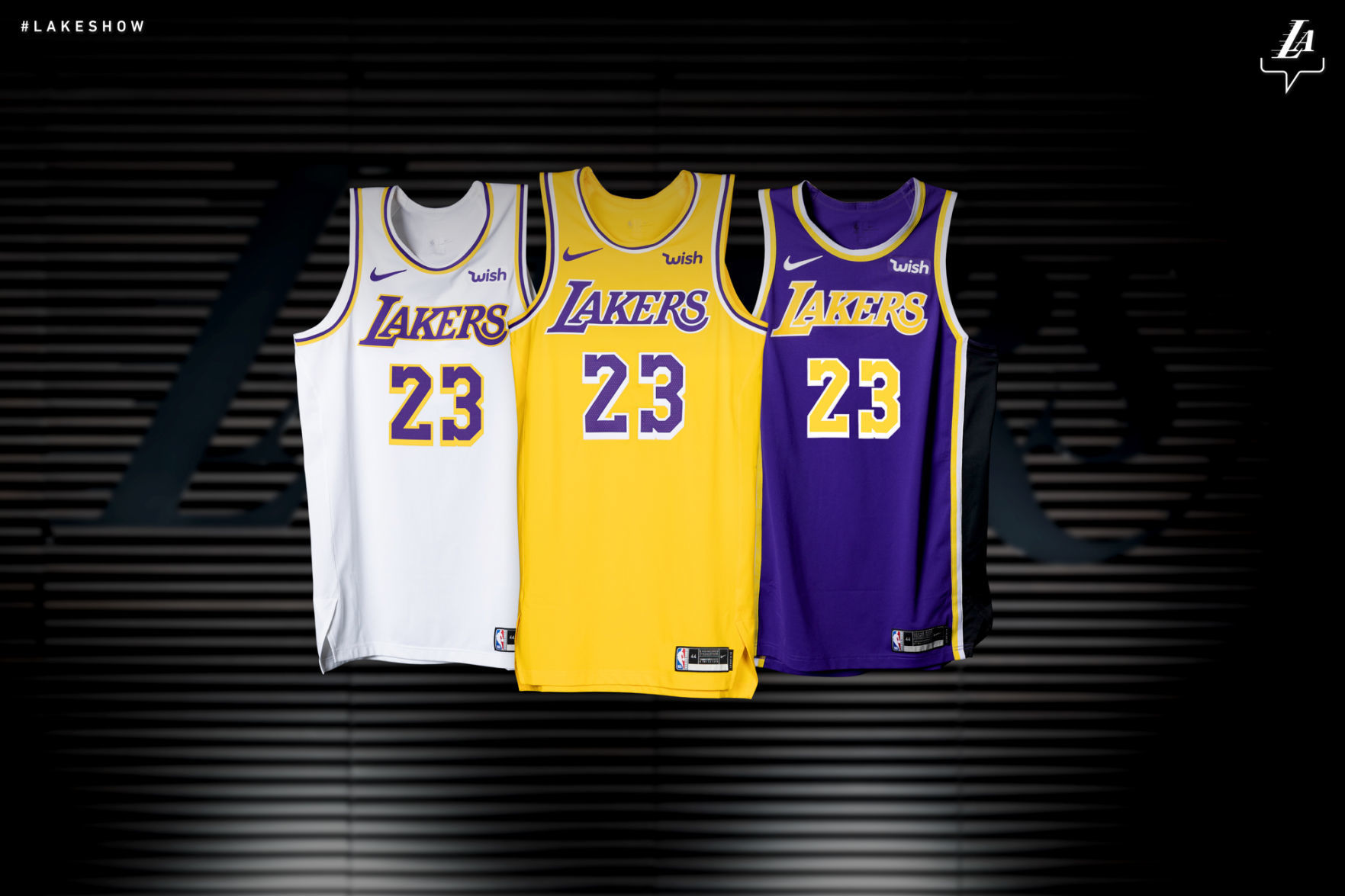Los Angeles Lakers unveil new jersey design | Sports ...